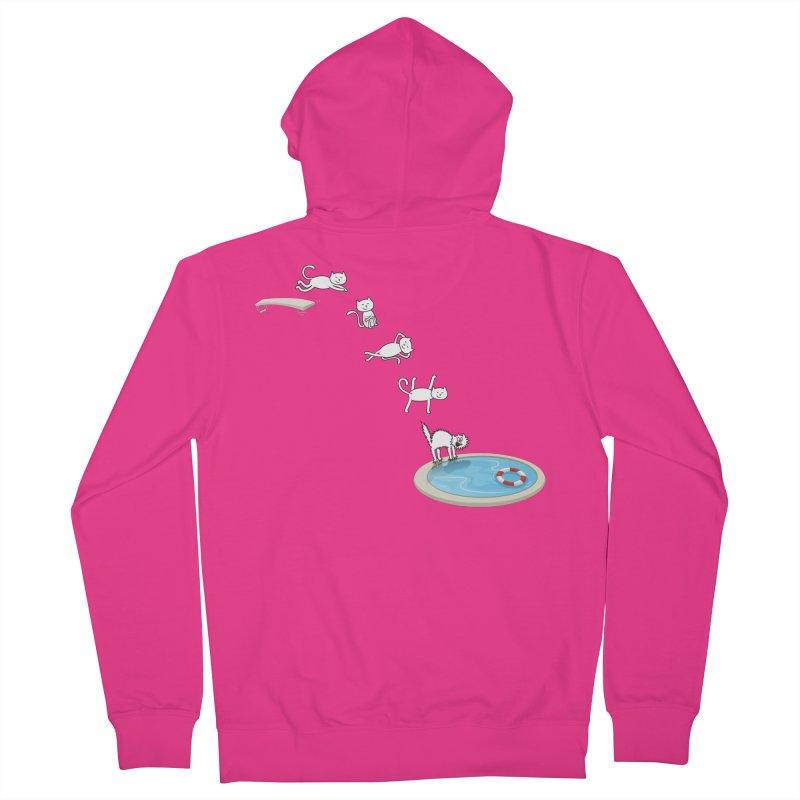 LET'S SWIMMM! =^.^= Men's Zip-Up Hoody by Origine's Shop