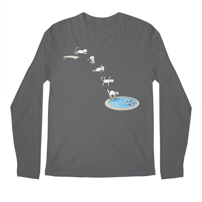 LET'S SWIMMM! =^.^= Men's Longsleeve T-Shirt by Origine's Shop