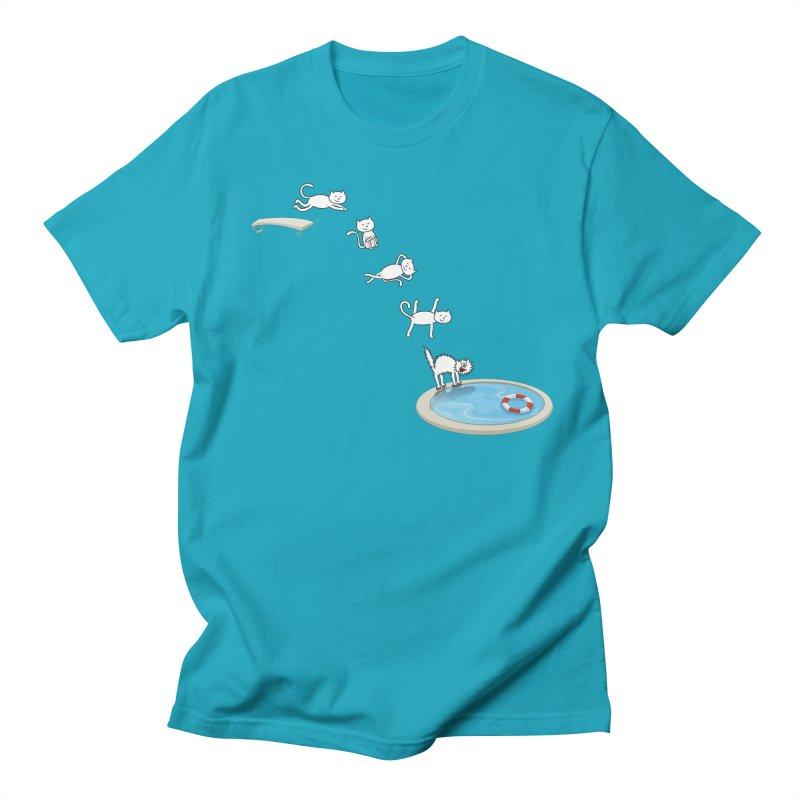 LET'S SWIMMM! =^.^= Men's T-shirt by Origine's Shop