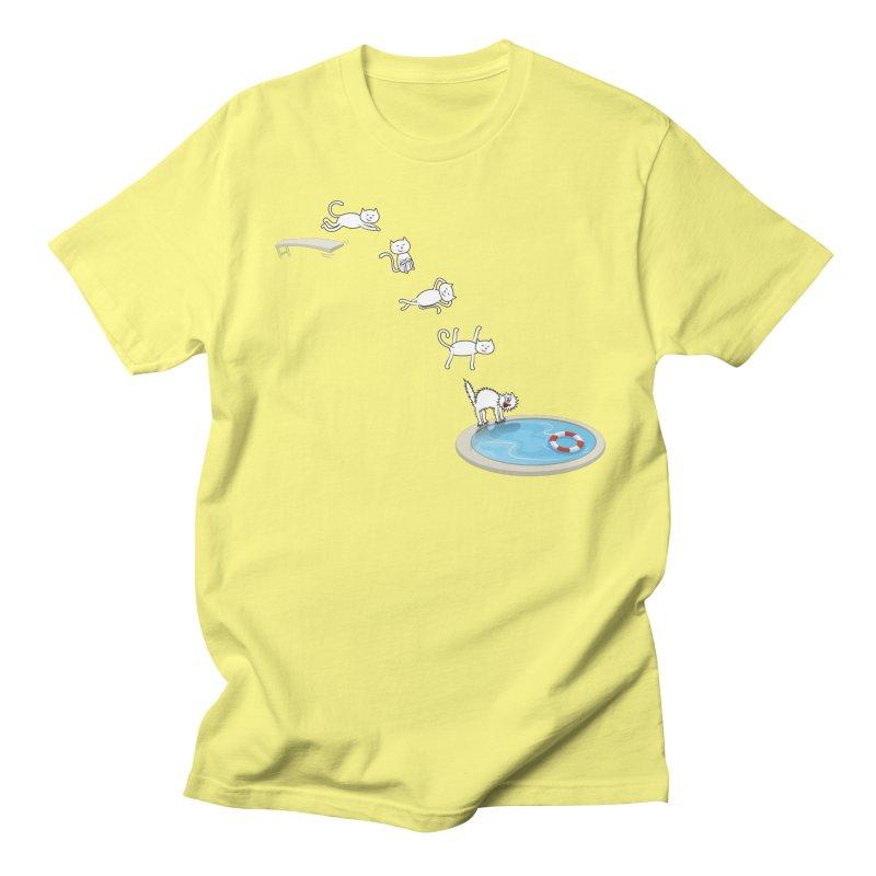 LET'S SWIMMM! =^.^= Men's Regular T-Shirt by Origine's Shop