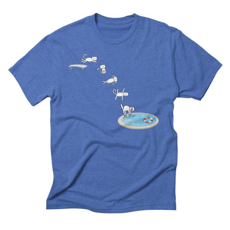 LET'S SWIMMM! =^.^= Men's Triblend T-Shirt by Origine's Shop