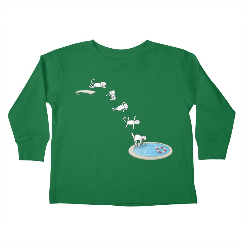 LET'S SWIMMM! =^.^= Kids Toddler Longsleeve T-Shirt by Origine's Shop