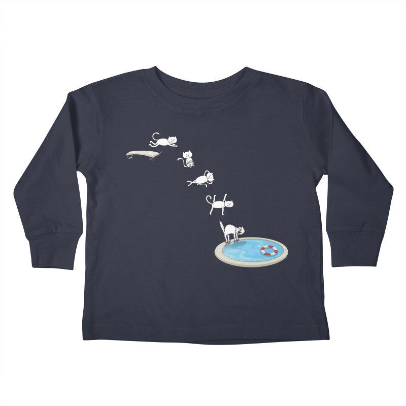 LET'S SWIMMM! =^.^= Kids Toddler Longsleeve T-Shirt by Origine's Shop