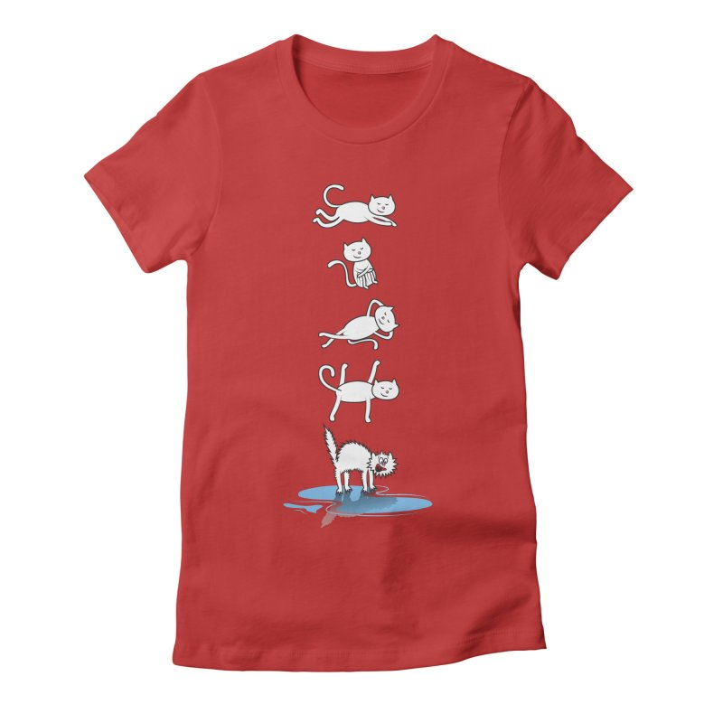 SUMMER IS COMMING! =^.^= in Women's Fitted T-Shirt Red by Origine's Shop