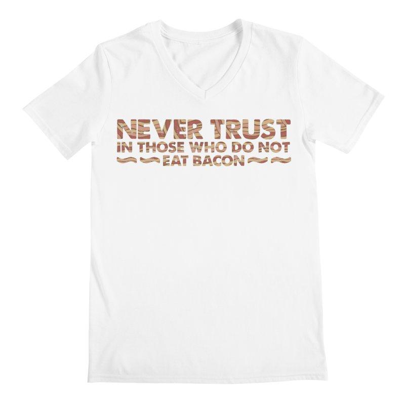 ~ NEVER TRUST ~ Men's V-Neck by Origine's Shop
