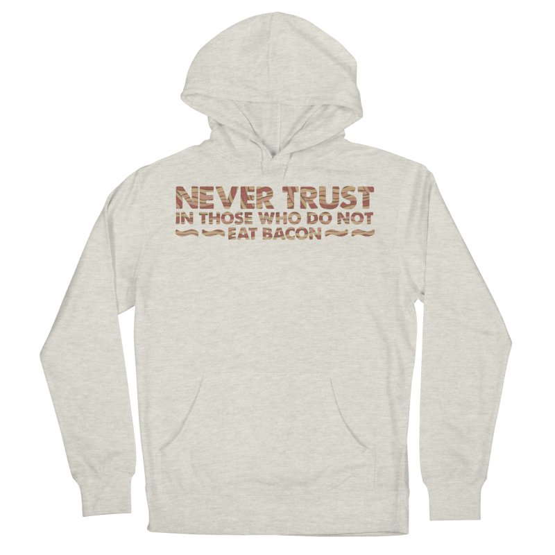 ~ NEVER TRUST ~ Men's French Terry Pullover Hoody by Origine's Shop