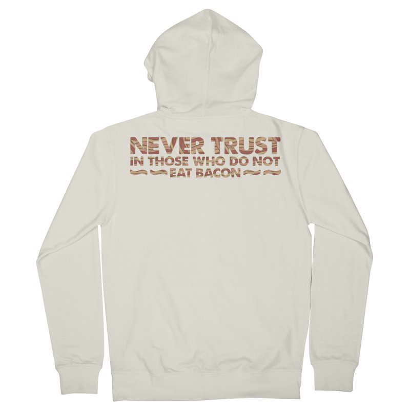~ NEVER TRUST ~ Women's French Terry Zip-Up Hoody by Origine's Shop