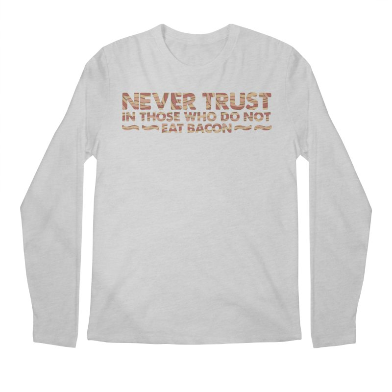 ~ NEVER TRUST ~ Men's Longsleeve T-Shirt by Origine's Shop