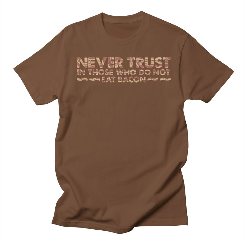 ~ NEVER TRUST ~ Men's T-shirt by Origine's Shop