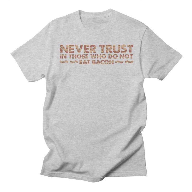 ~ NEVER TRUST ~ Men's Regular T-Shirt by Origine's Shop