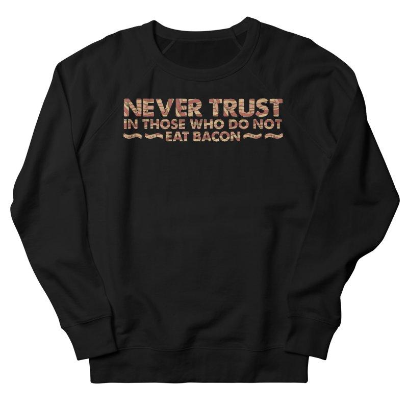 ~ NEVER TRUST ~ Men's French Terry Sweatshirt by Origine's Shop