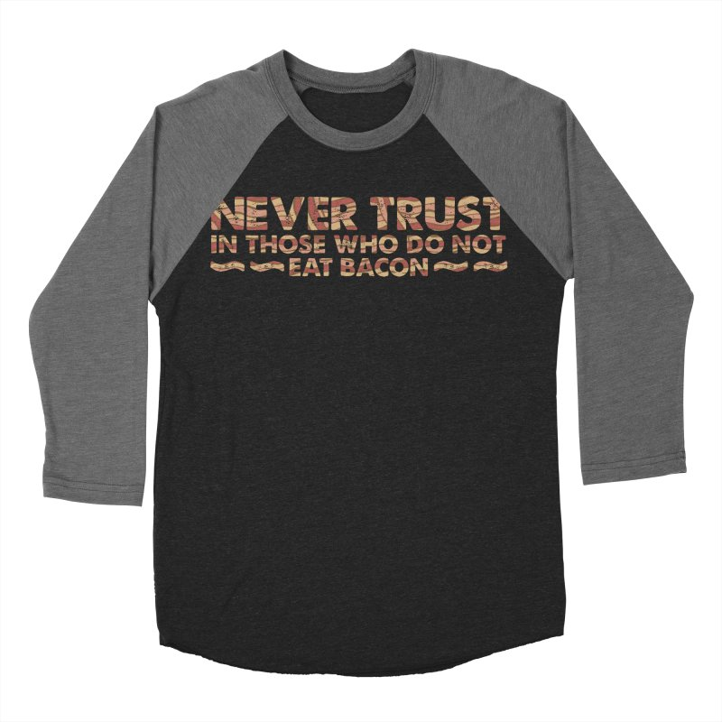 ~ NEVER TRUST ~ Men's Baseball Triblend T-Shirt by Origine's Shop