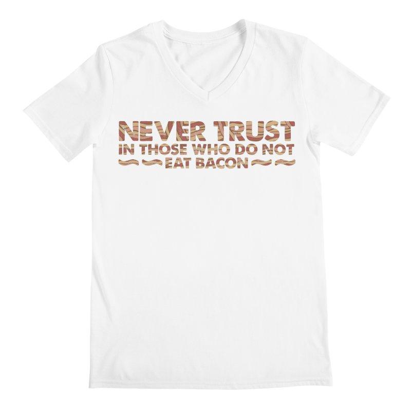 ~ NEVER TRUST ~ Men's Regular V-Neck by Origine's Shop
