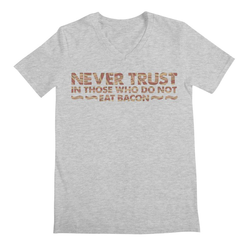 ~ NEVER TRUST ~ Men's Regular V-Neck by Origine's Shop