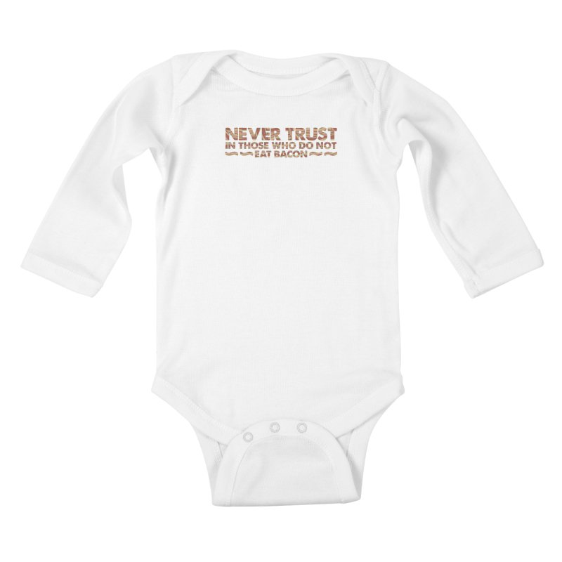 ~ NEVER TRUST ~ Kids Baby Longsleeve Bodysuit by Origine's Shop
