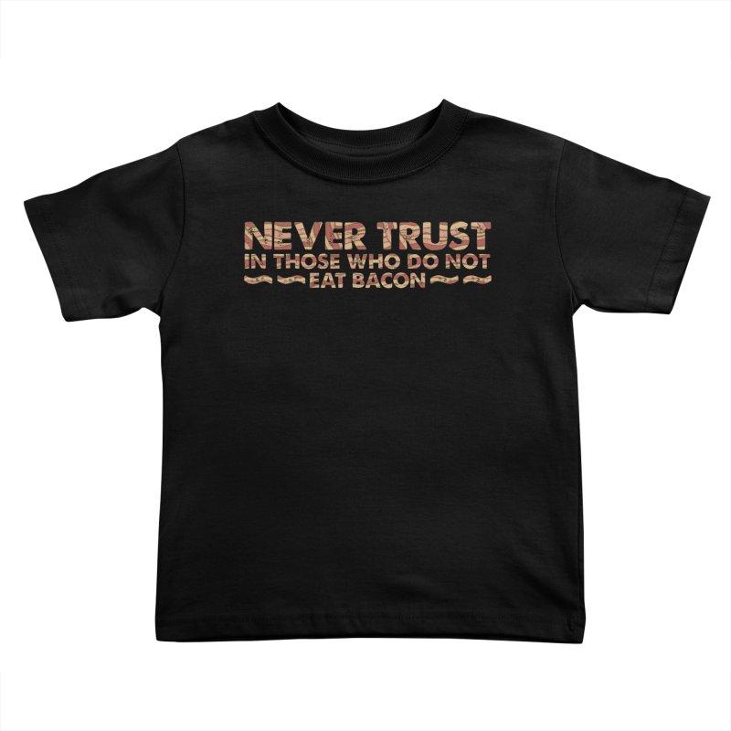 ~ NEVER TRUST ~ Kids Toddler T-Shirt by Origine's Shop