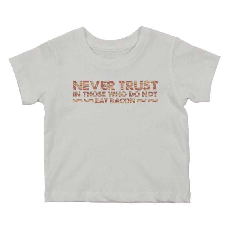 ~ NEVER TRUST ~ Kids Baby T-Shirt by Origine's Shop