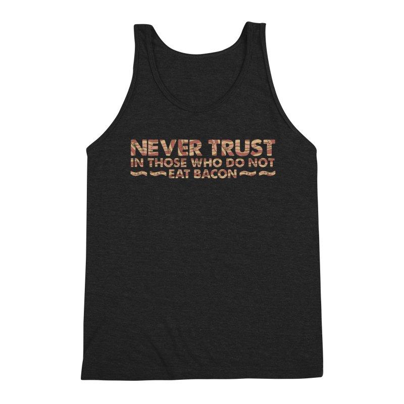 ~ NEVER TRUST ~ Men's Triblend Tank by Origine's Shop
