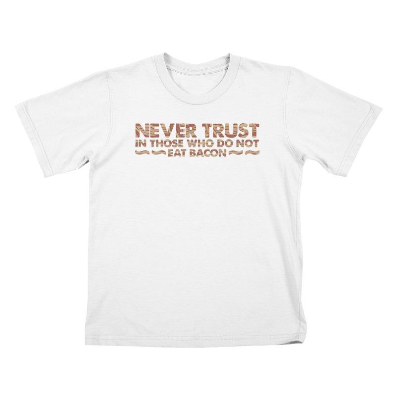 ~ NEVER TRUST ~ Kids T-shirt by Origine's Shop