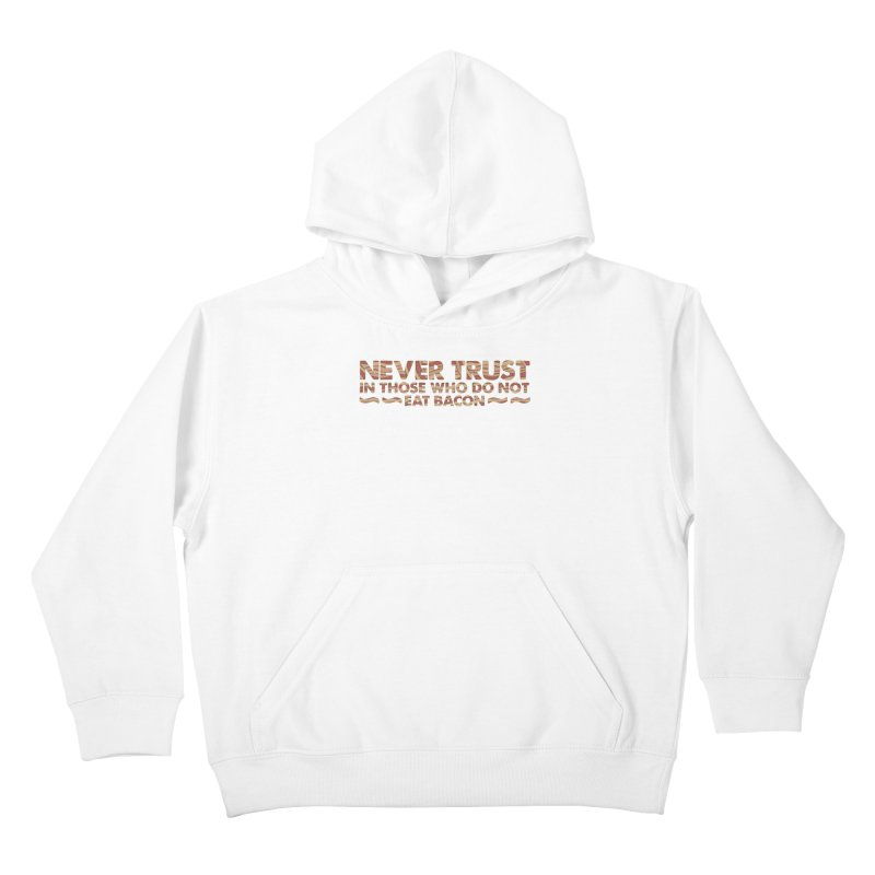 ~ NEVER TRUST ~ Kids Pullover Hoody by Origine's Shop