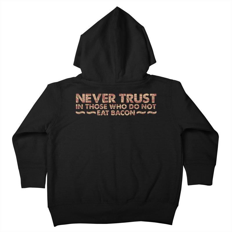 ~ NEVER TRUST ~ Kids Toddler Zip-Up Hoody by Origine's Shop