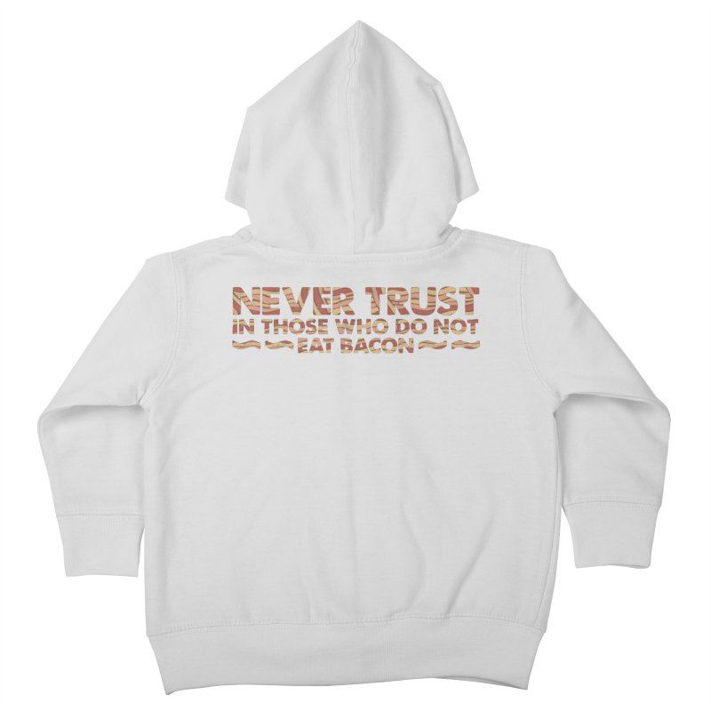 ~ NEVER TRUST ~ Kids Toddler Zip-Up Hoody by Origine's Shop