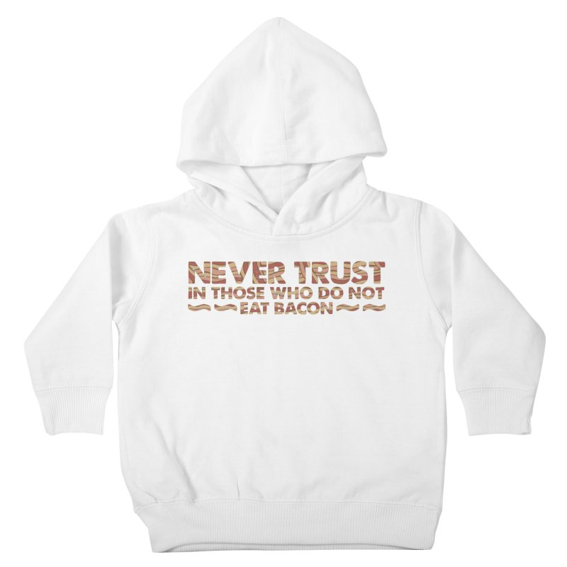 ~ NEVER TRUST ~ Kids Toddler Pullover Hoody by Origine's Shop