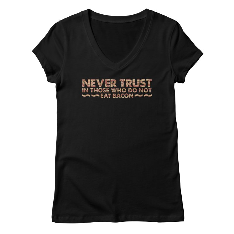 ~ NEVER TRUST ~ Women's V-Neck by Origine's Shop