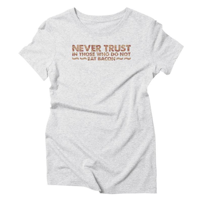 ~ NEVER TRUST ~ Women's Triblend T-Shirt by Origine's Shop