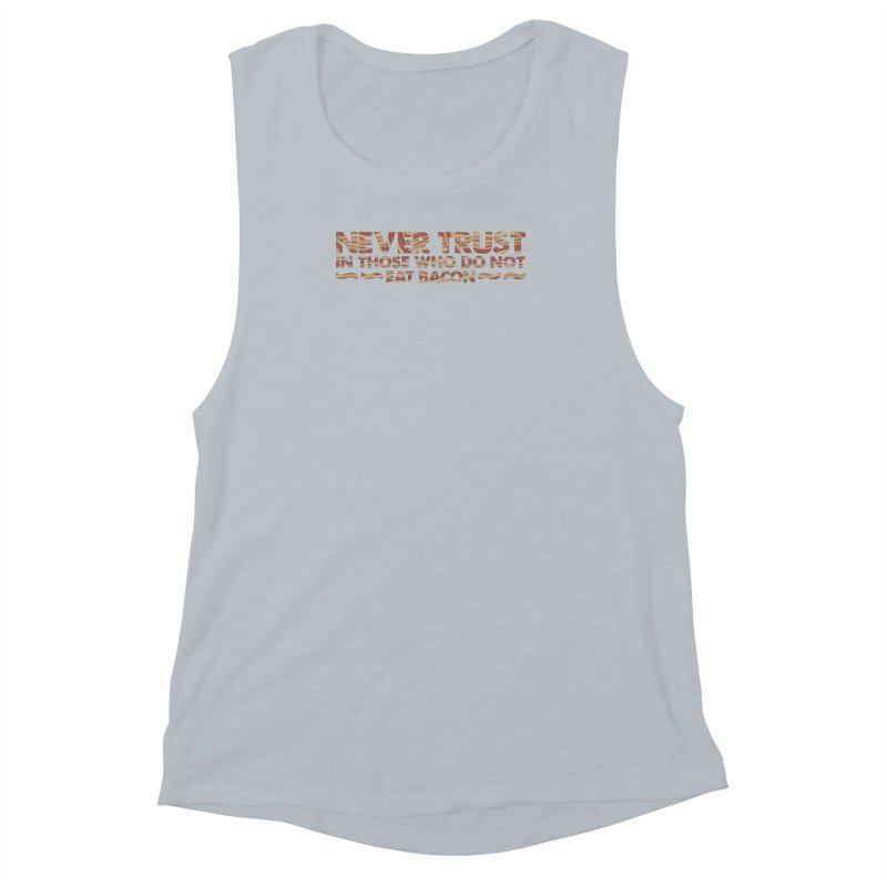 ~ NEVER TRUST ~ Women's Muscle Tank by Origine's Shop