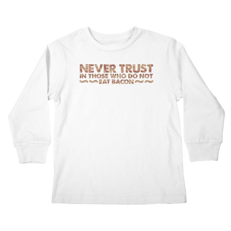~ NEVER TRUST ~ Kids Longsleeve T-Shirt by Origine's Shop