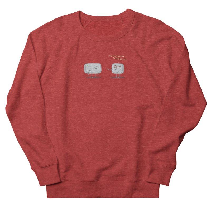 STOP SCREAMING Men's French Terry Sweatshirt by Origine's Shop