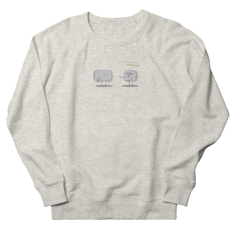 STOP SCREAMING Men's French Terry Sweatshirt by Origine's Shop