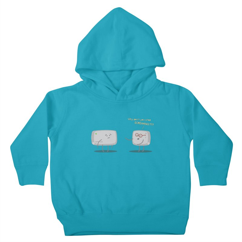 STOP SCREAMING Kids Toddler Pullover Hoody by Origine's Shop