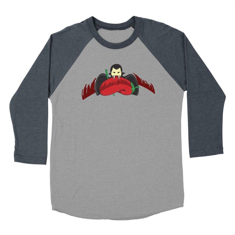 Bloody Drink (㇏(•̀ᵥᵥ•́)ノ) Women's Baseball Triblend Longsleeve T-Shirt by Origine's Shop