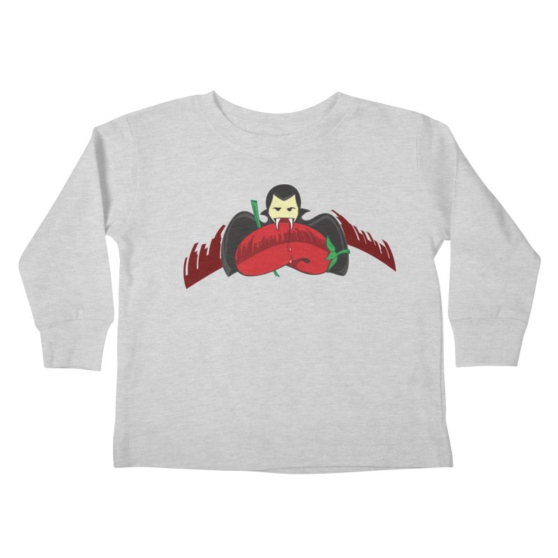 Bloody Drink (㇏(•̀ᵥᵥ•́)ノ) Kids Toddler Longsleeve T-Shirt by Origine's Shop