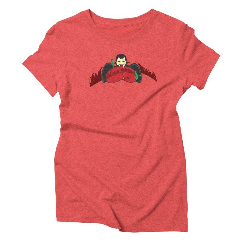 Bloody Drink (㇏(•̀ᵥᵥ•́)ノ) Women's Triblend T-Shirt by Origine's Shop