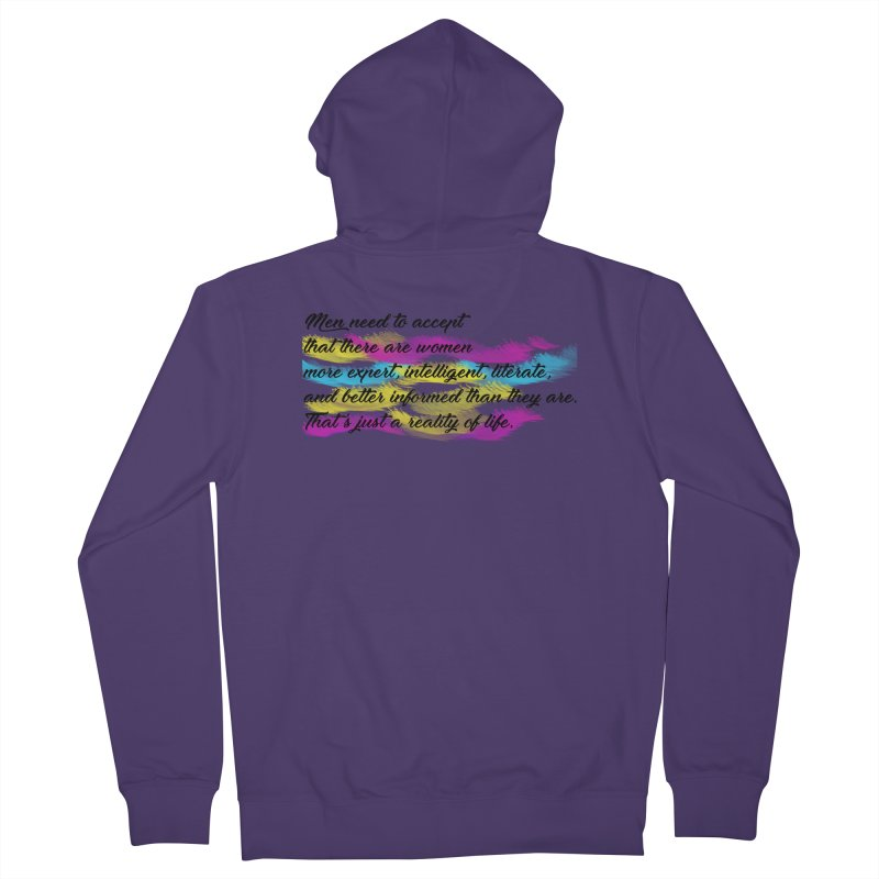 Women Are Experts Too Women's Zip-Up Hoody by originlbookgirl's Artist Shop