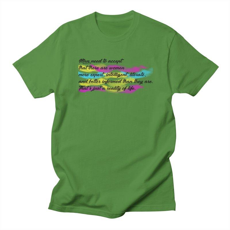 Women Are Experts Too Men's T-Shirt by originlbookgirl's Artist Shop