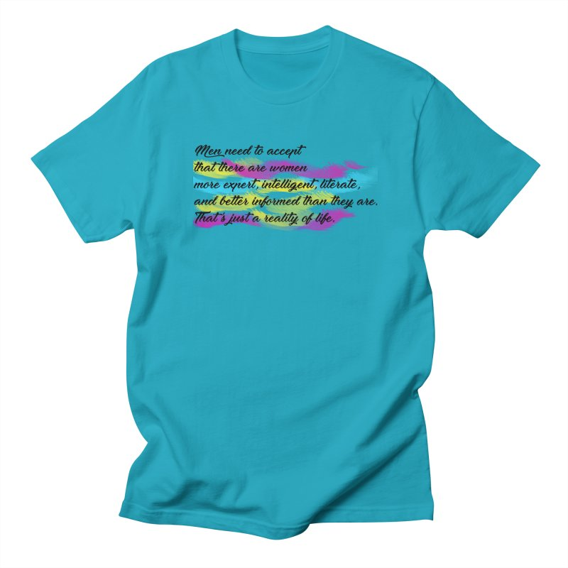 Women Are Experts Too Men's T-shirt by originlbookgirl's Artist Shop