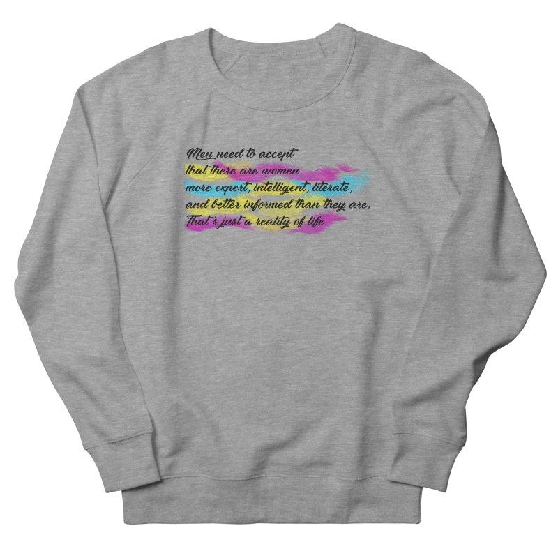 Women Are Experts Too Women's Sweatshirt by originlbookgirl's Artist Shop