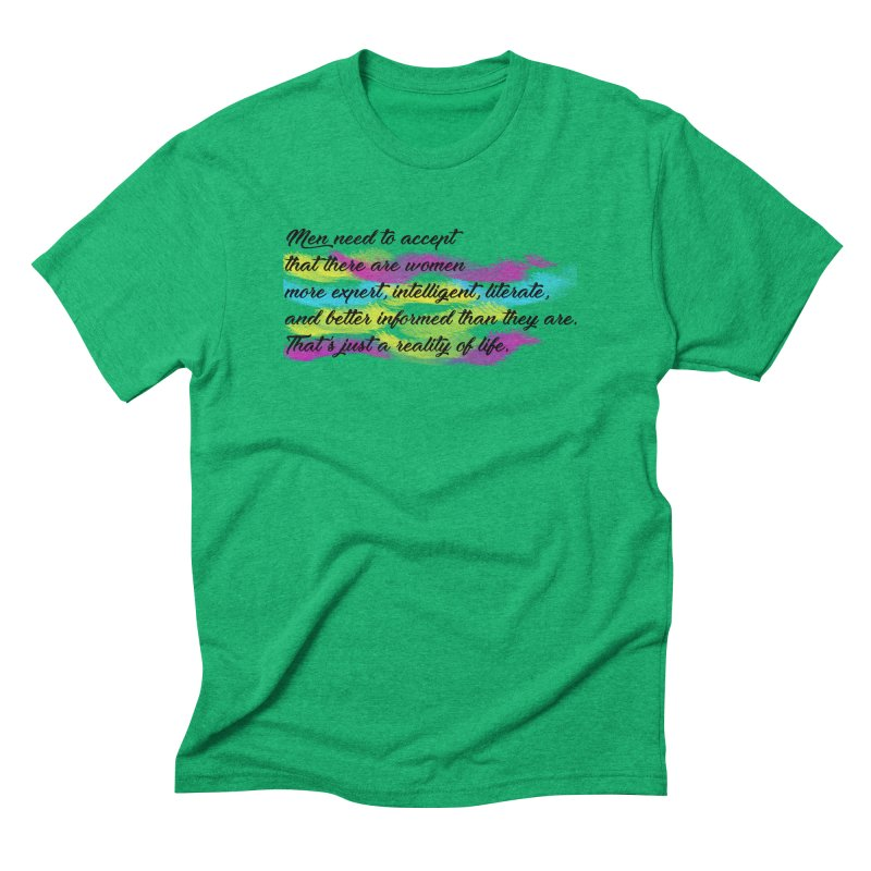 Women Are Experts Too Men's Triblend T-shirt by originlbookgirl's Artist Shop