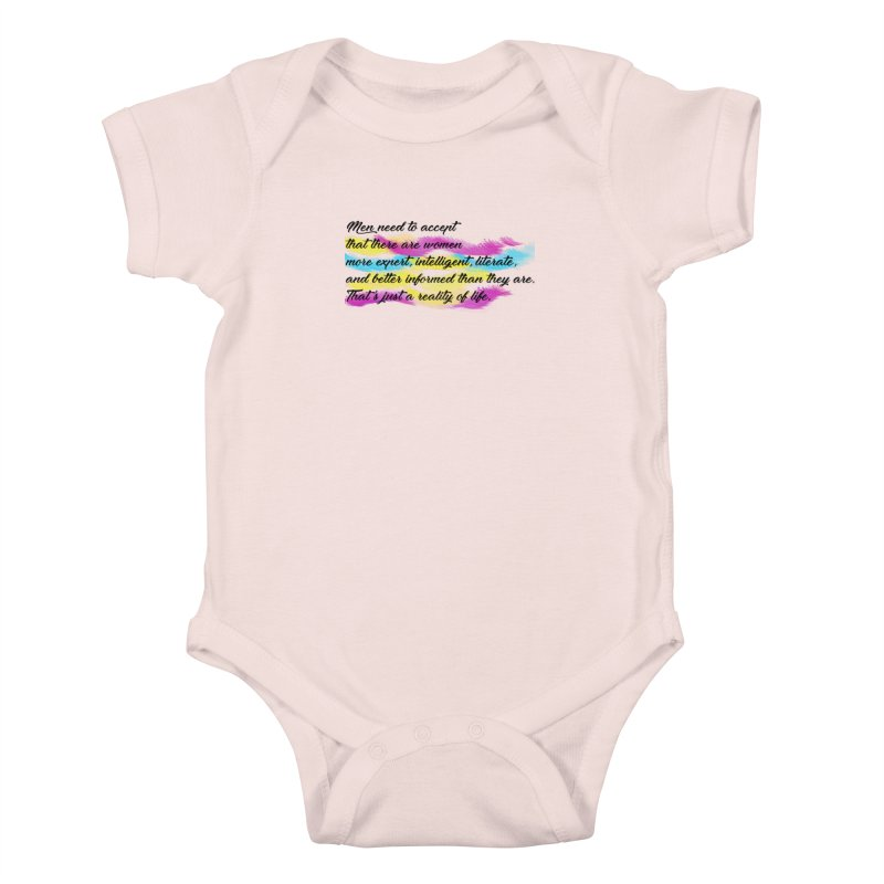 Women Are Experts Too Kids Baby Bodysuit by originlbookgirl's Artist Shop