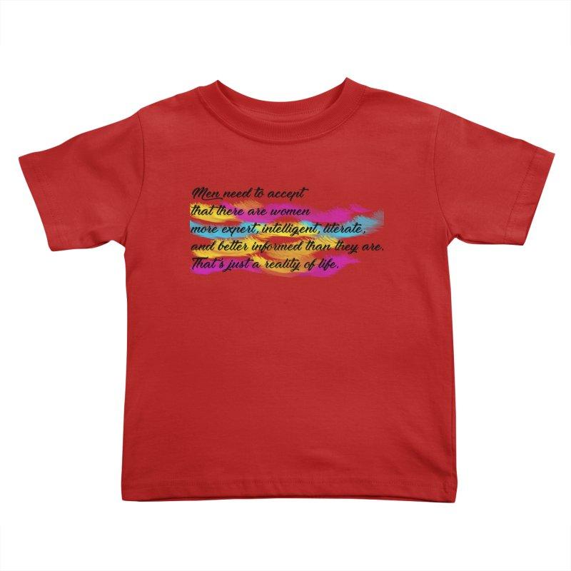 Women Are Experts Too Kids Toddler T-Shirt by originlbookgirl's Artist Shop
