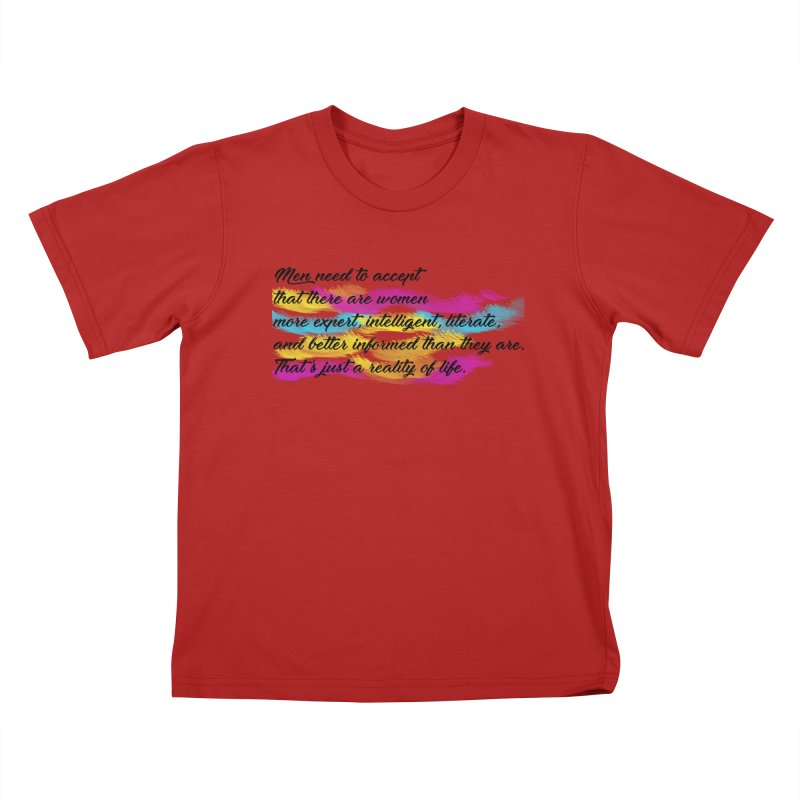 Women Are Experts Too Kids T-shirt by originlbookgirl's Artist Shop