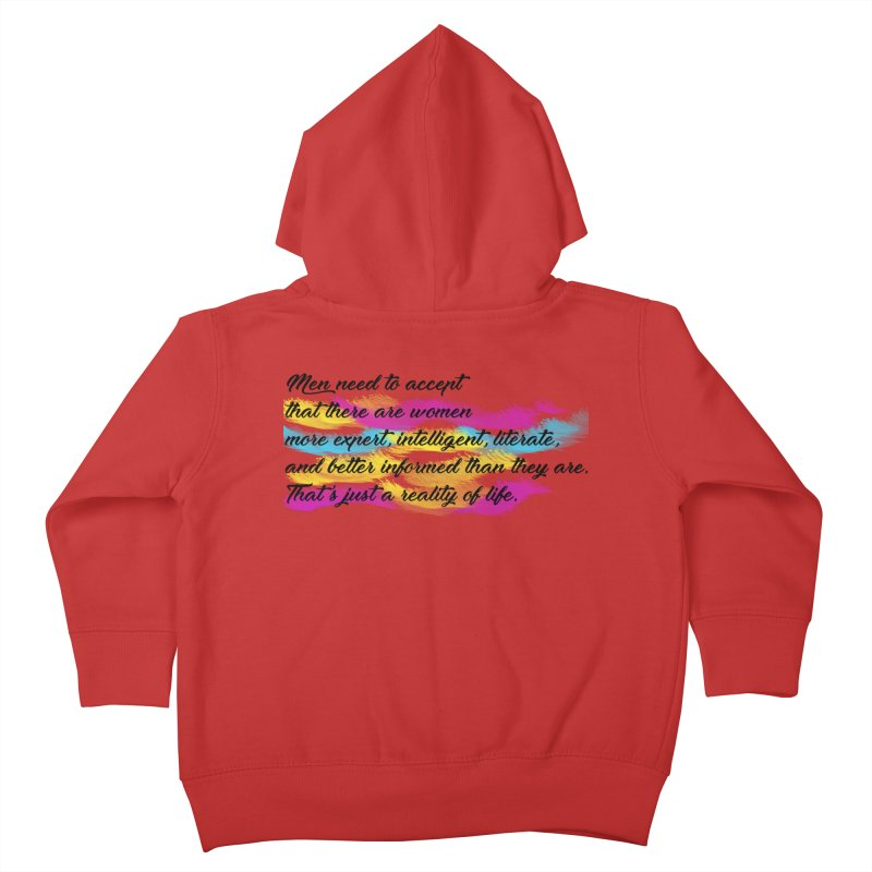 Women Are Experts Too Kids Toddler Zip-Up Hoody by originlbookgirl's Artist Shop