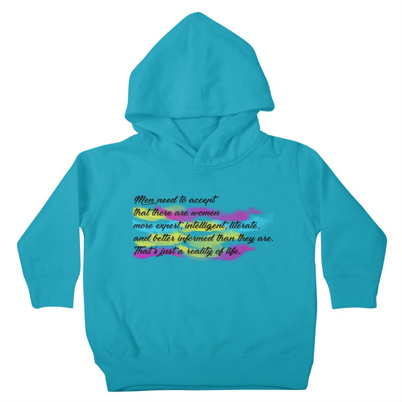 Women Are Experts Too Kids Toddler Pullover Hoody by originlbookgirl's Artist Shop