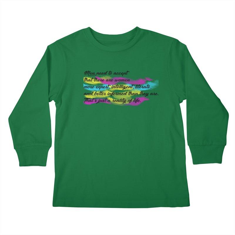 Women Are Experts Too Kids Longsleeve T-Shirt by originlbookgirl's Artist Shop
