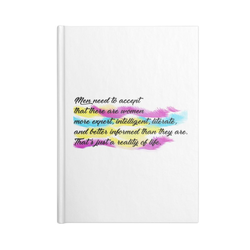 Women Are Experts Too Accessories Notebook by originlbookgirl's Artist Shop