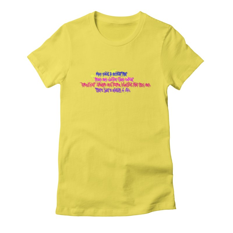 Women are Experts 2 Women's Fitted T-Shirt by originlbookgirl's Artist Shop